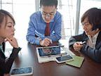 PHOTO: Smartphones In China