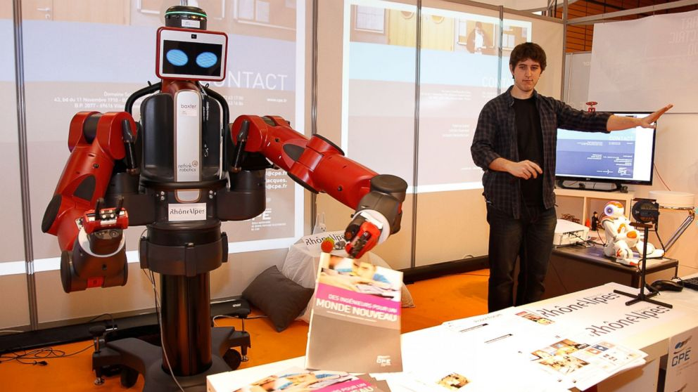 Good Morning America Robot : How robots could soon learn to teach themselves abc news