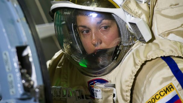 PHOTO: In this file photo, Russian cosmonaut Elena Serova is pictured at the Gagarin Cosmonauts Training Centre on Dec. 5, 2013 in Star City, Russia.