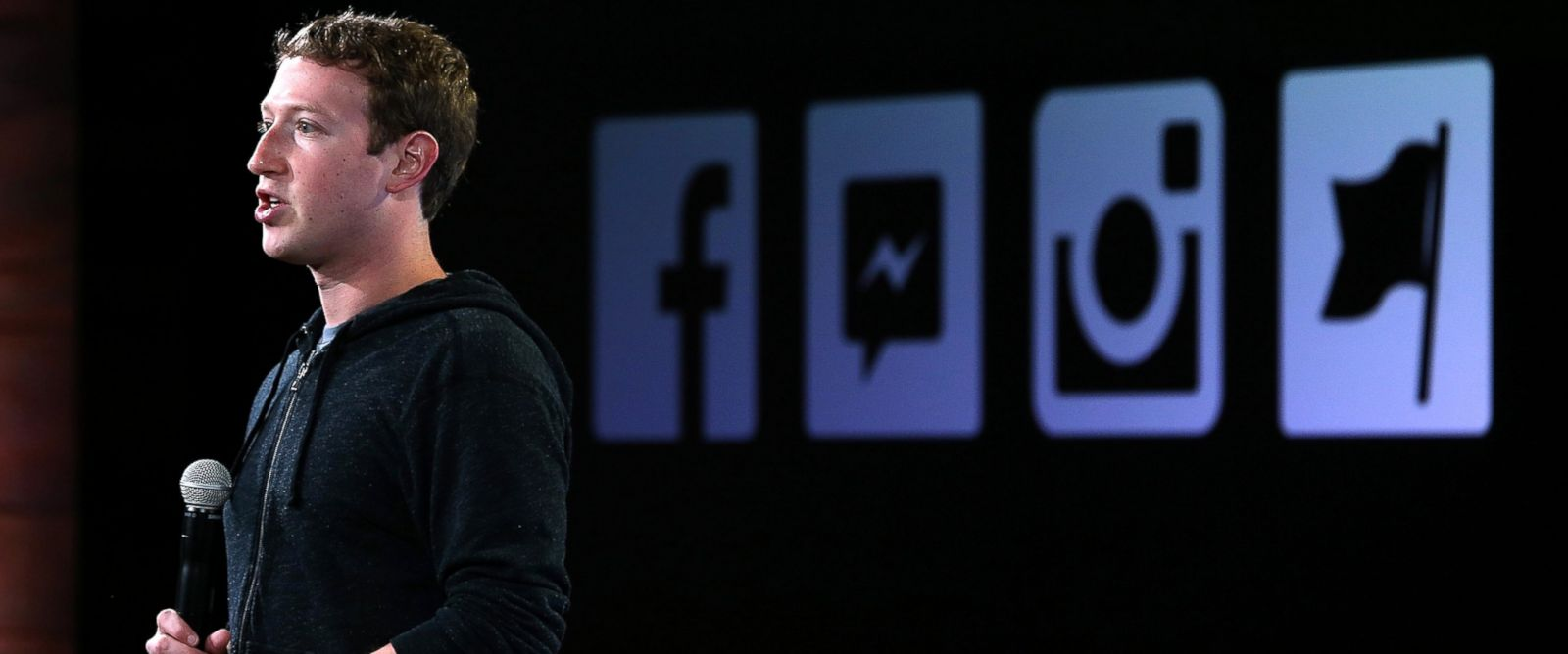 PHOTO: Facebook CEO Mark Zuckerberg speaks during a press event at Facebook headquarters, June 20, 2013, in Menlo Park, Calif.