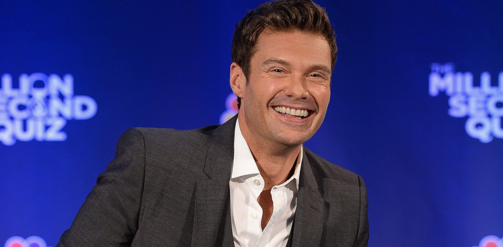 "PHOTO: Ryan Seacrest attends ""The Million Second Quiz"" Cocktail Reception in New York, Aug. 28, 2013"