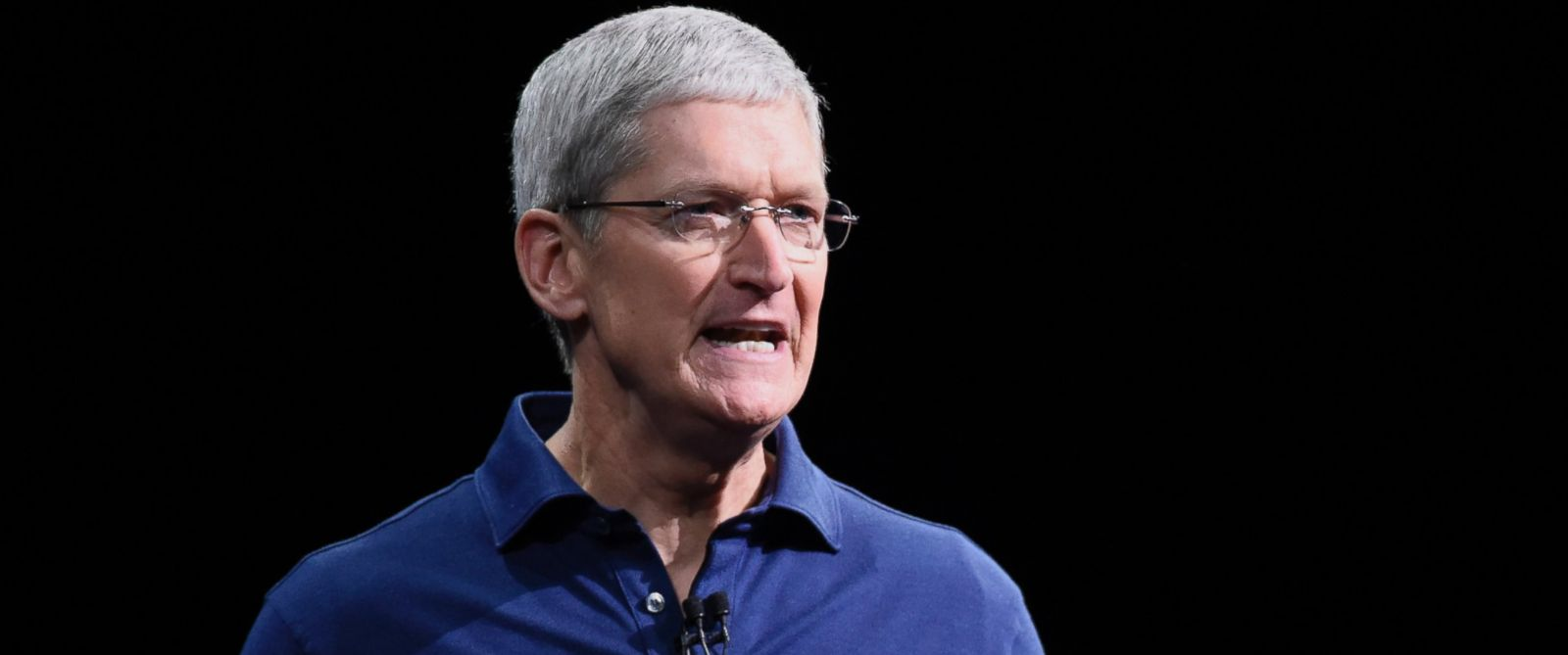 PHOTO: Tim Cook, chief executive officer of Apple Inc., speaks during the Apple World Wide Developers Conference in San Francisco on June 8, 2015.