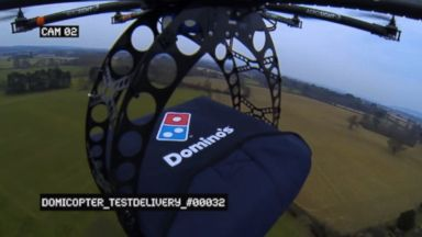 "PHOTO: Dominos previewed its ""Domicopter"" drone in a YouTube video: youtube.com/watch?v=on4DRTUvst0"