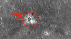 PHOTO: The crash site of Apollo 16s booster has been spotted on the moon.