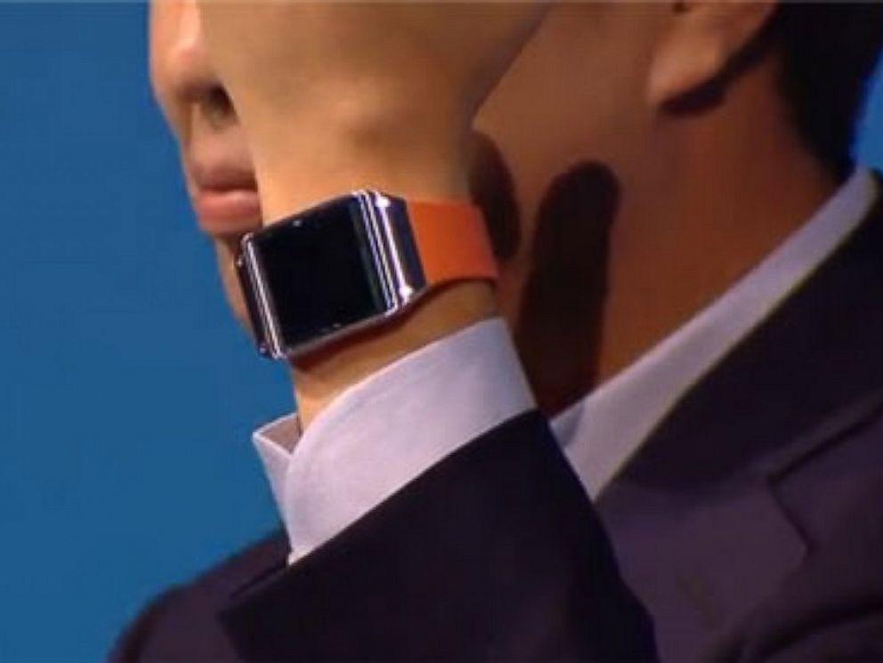 PHOTO: The Galaxy Gear smartwatch,