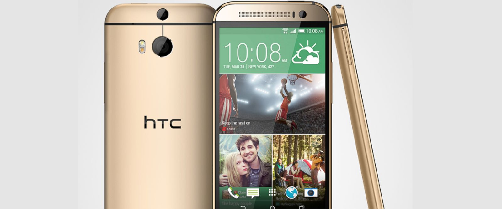 PHOTO: The new HTC One smartphone.