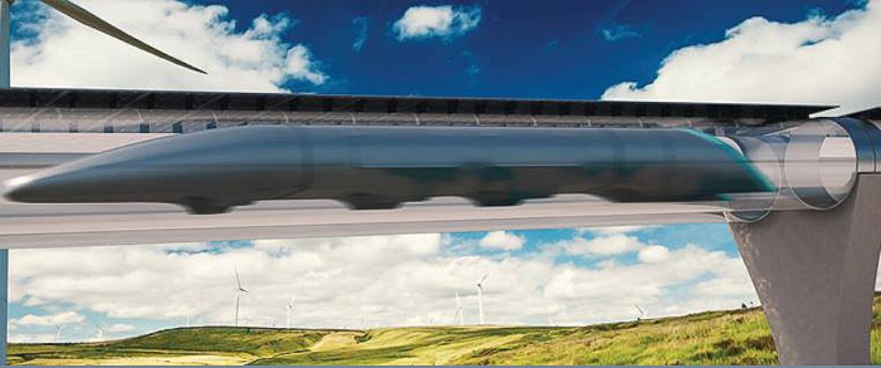 PHOTO:The Hyperloop could be ready for passengers by 2018.