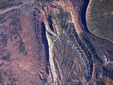 A Unique View of Morocco From Space