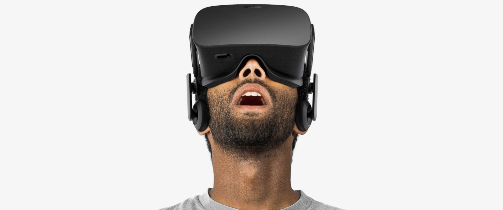 PHOTO:A man is seen wearing an Oculus Rift headset in this undated file photo.