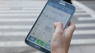 PHOTO: Samsungs Galaxy Mega is a phone but it is hard to reach the numbers.