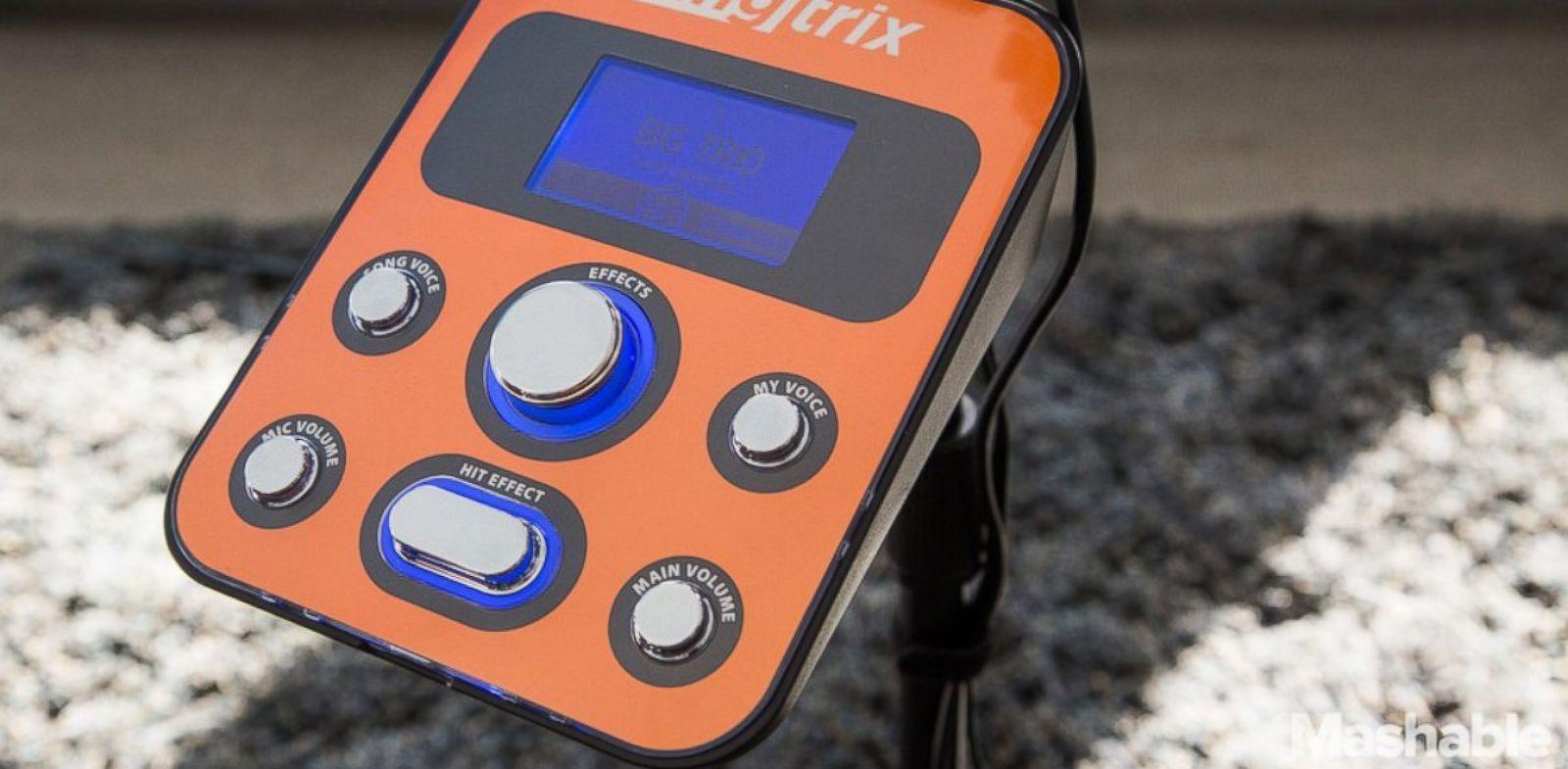 PHOTO: Singtrix is a karaoke machine that makes you sound better.
