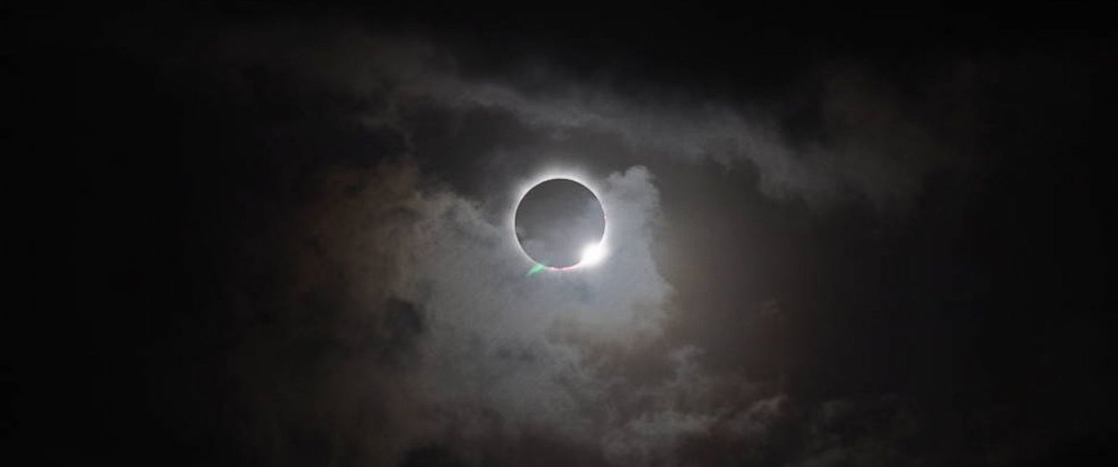 PHOTO: During total solar eclipses, such as this one seen from the northern tip of Australia, Nov. 13, 2012, the light halo of the sun's atmosphere, called the corona, can be seen.
