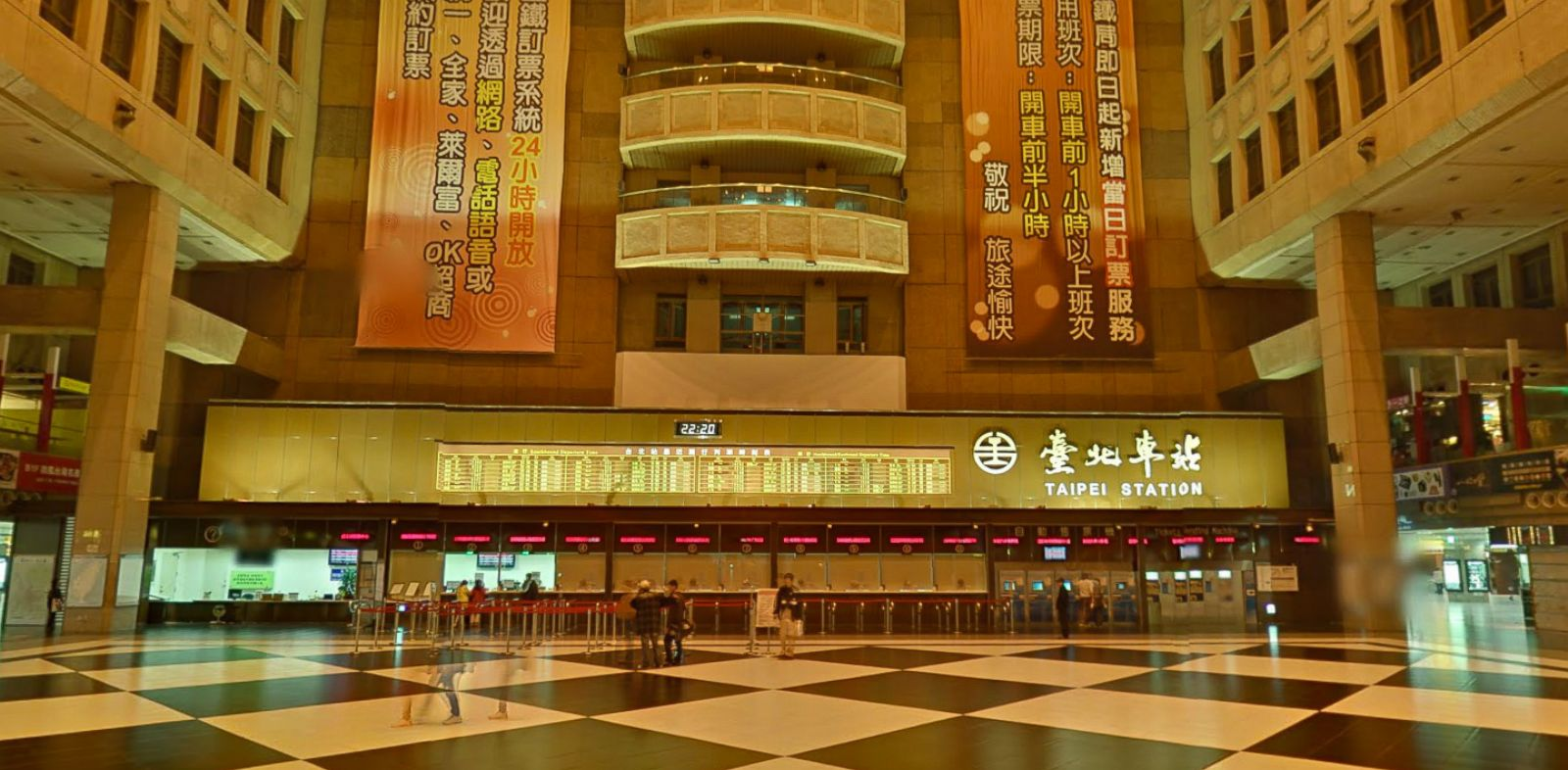 PHOTO: Taipei Train Station is one of the newest additions to Google Street View.