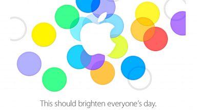 PHOTO: Apples Sept. 10 invite.