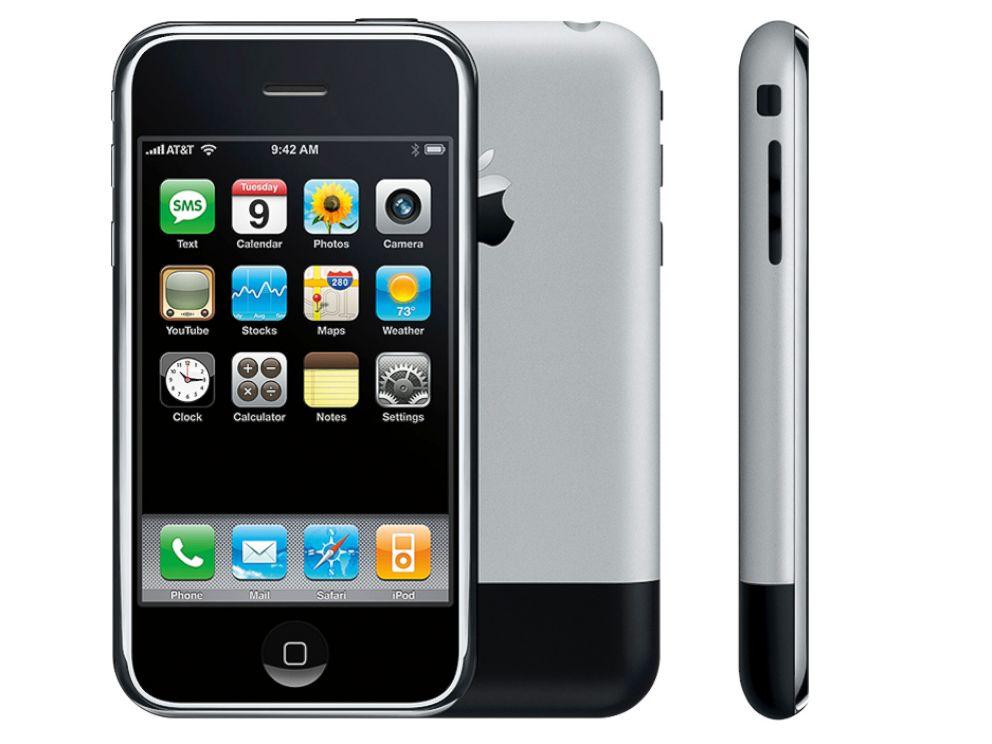 PHOTO: The Apple iPhone.