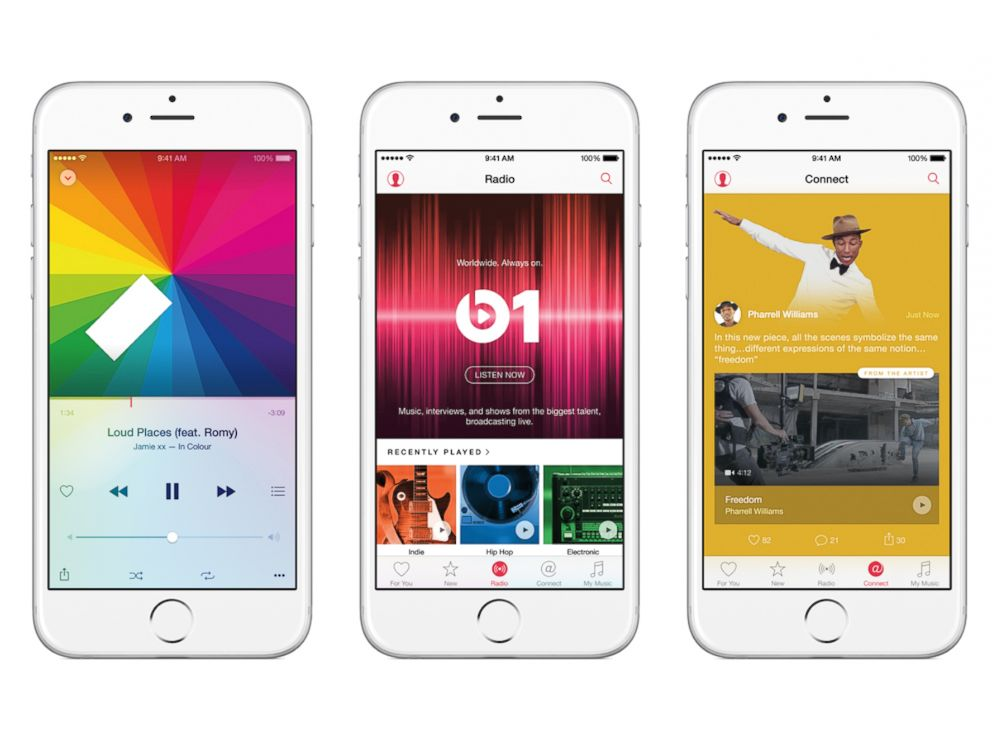PHOTO:Apple Music, a single, intuitive app that combines the best ways to enjoy music — all in one place.