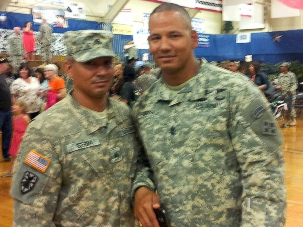PHOTO: Brothers Louis and Raul Sierra in their first picture together in 37 years on July 1, 2014.