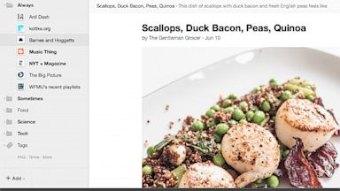 PHOTO: Digg created an RSS reader after it heard that Google Reader was shutting down.