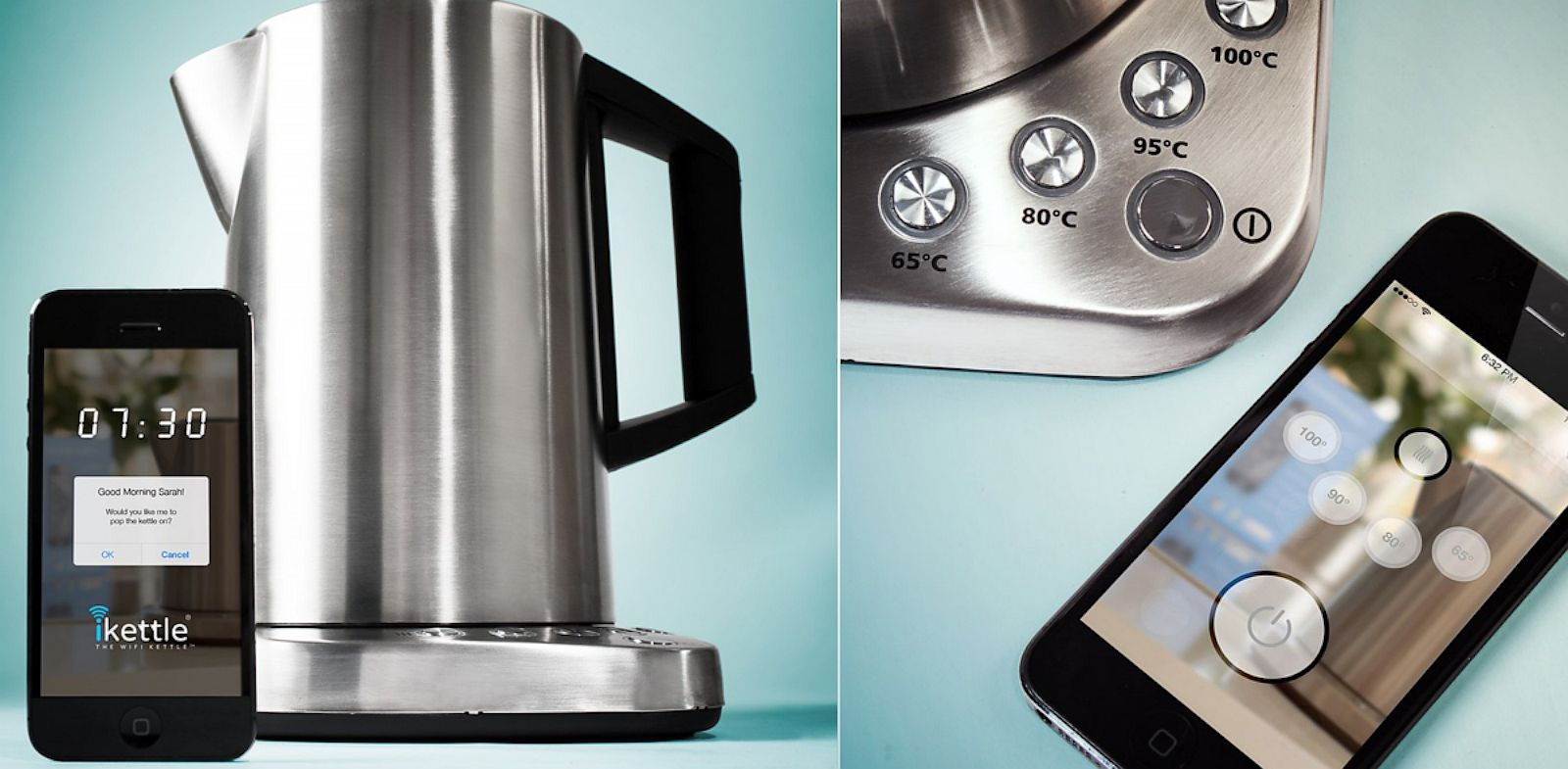 PHOTO: The iKettle lets you control a kettle with your smartphone.
