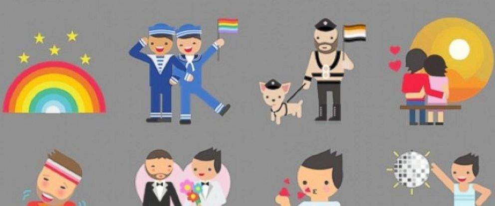 PHOTO: To celebrate Pride Month, Facebook launched these new stickers.