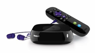 PHOTO: The Roku 3 streams Internet video service when plugged into your TV.