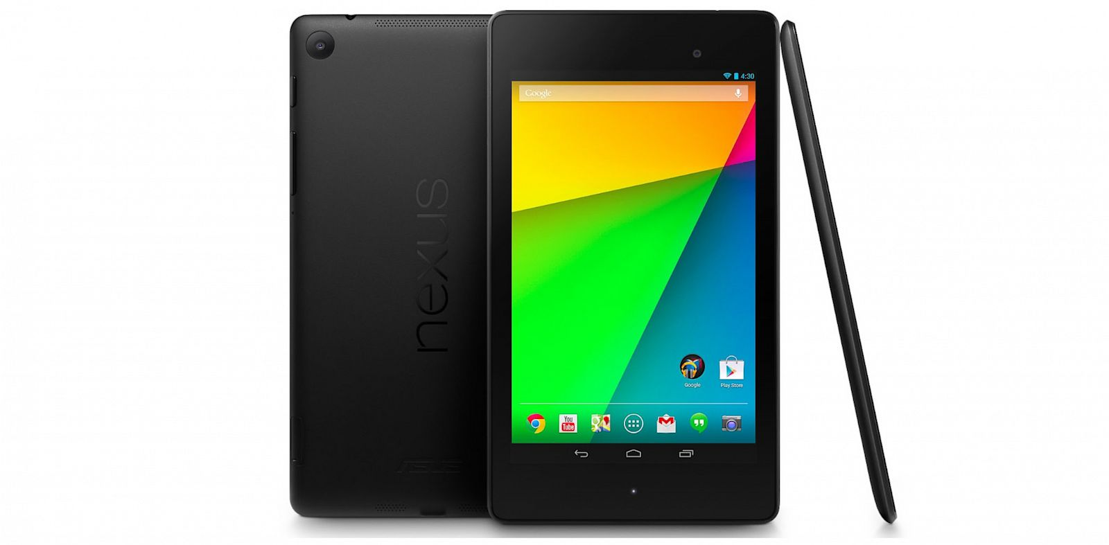 PHOTO: Googles new Nexus 7 has a higher resolution screen and cameras.