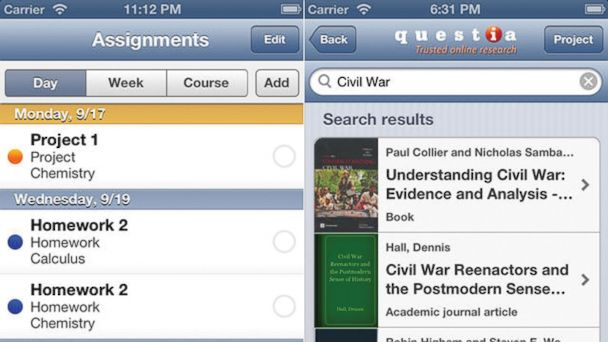 PHOTO: Keeps track of your classes and deadlines.