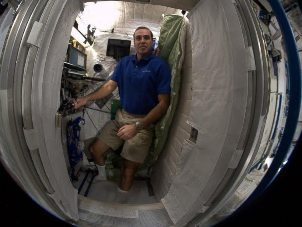 inside space station bed - photo #25