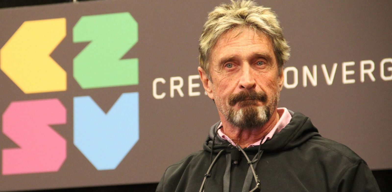 PHOTO: John McAfee , Future Tense Central, C2SV Conference