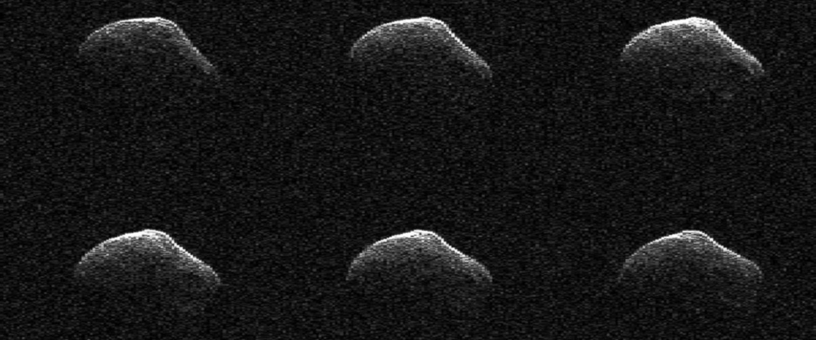 PHOTO: NASA captured radar images of comet P/2016 BA14 as it moved past Earth.