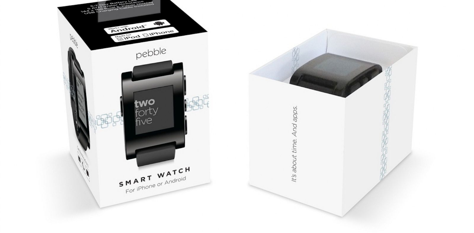 PHOTO: Pebbles smartwatch will be available soon at Best Buy.