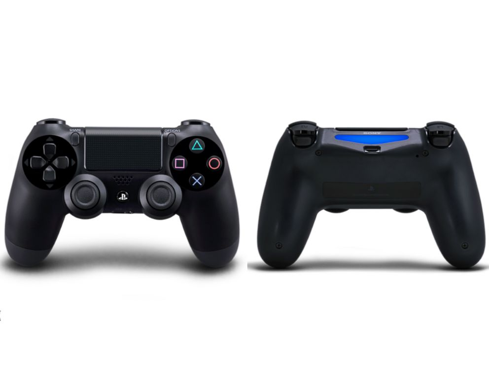 PHOTO: The new Dualshock 4 controller includes a touch pad and a light bar.