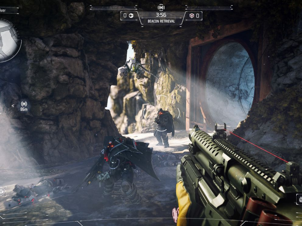 PHOTO: Screenshot from Killzone Shadow Fall, a first person shooter exclusive to the PS4.