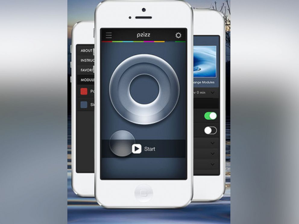 PHOTO:Pzizz offers a customizable soundtrack that helps lull users into their nightly slumber ? or even just a power nap