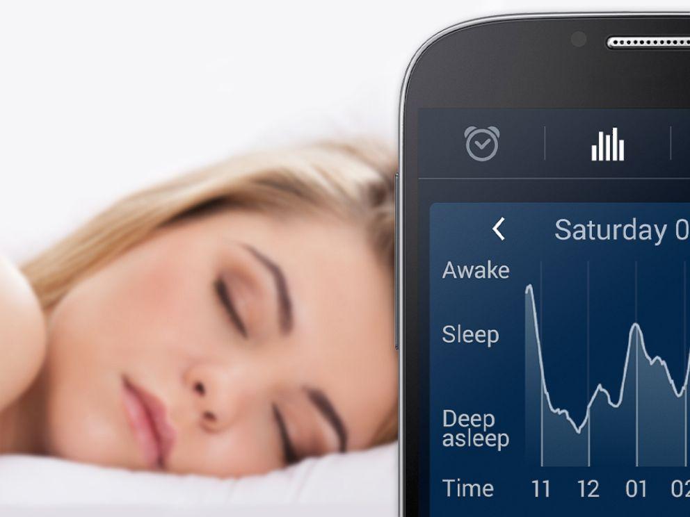 PHOTO:SleepCycle lets users track their sleep using an app.