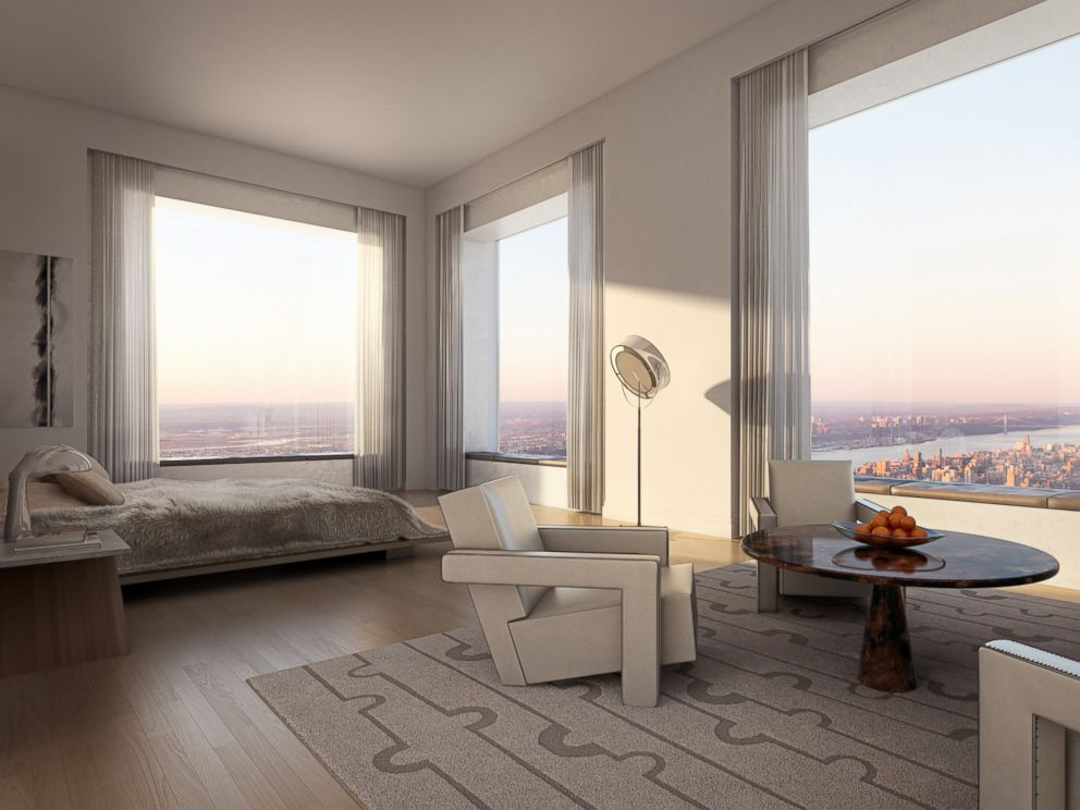 PHOTO: An interior view of an apartment in 432 Park Avenue.