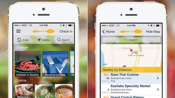 PHOTO: For when you just cant handle the dining hall any longer, Urbanspoon helps you find restaurants.