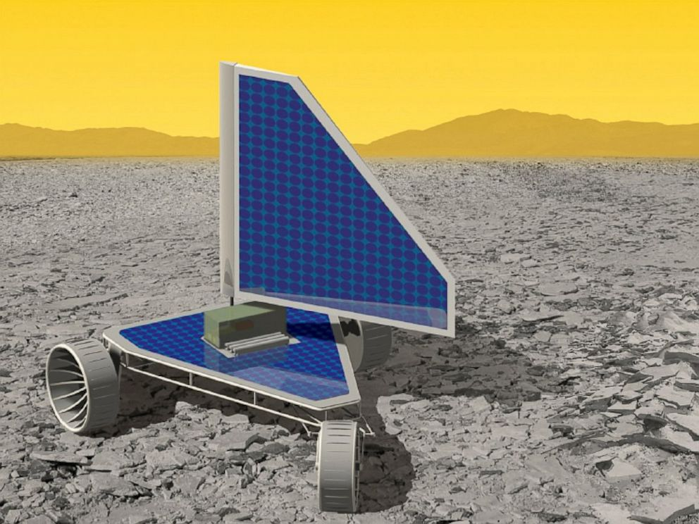 PHOTO: The Zephyr landsail rover