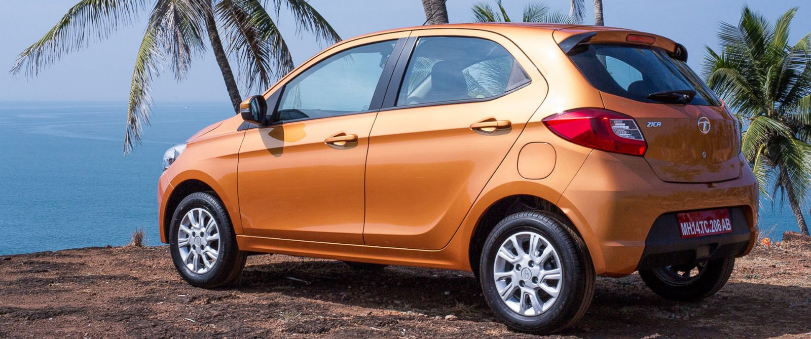 "PHOTO:Tata Motors announced that it has decided to rename its soon-to-be launched hatchback ""ZICA"" car."