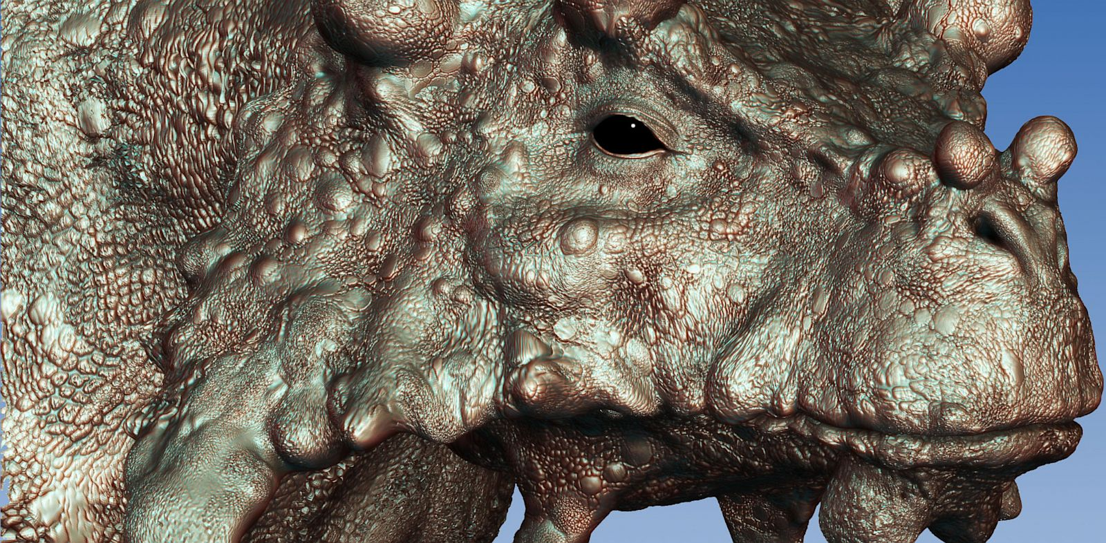 PHOTO: An artists rendering of the Bunostegos and its bump-ridden face.