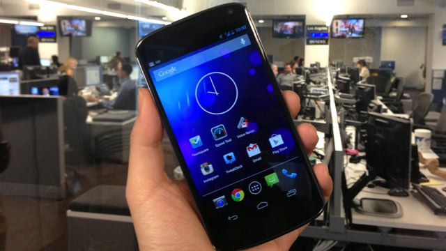 PHOTO: The $299 Nexus 4 is made by LG and Google.