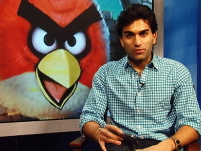 VIDEO: Top gamer offers tips and tricks for beating the hit smartphone game Angry Birds.