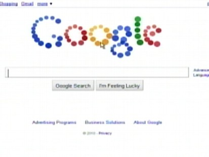 VIDEO: Googles newest doodle turns the companys logo into balls that users can move.