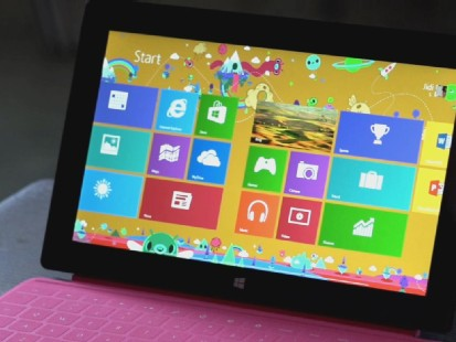 VIDEO: Does Microsofts first Windows 8 tablet live up to the hype?