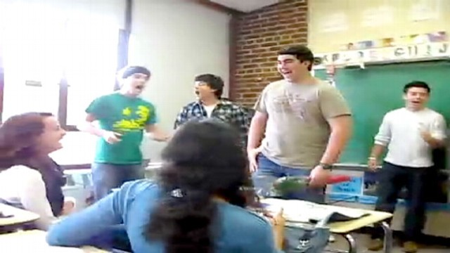 VIDEO: Teens post video of their creative prom proposals online.