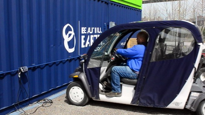 VIDEO: A Brooklyn company puts a do-it-yourself twist on powering automobiles.