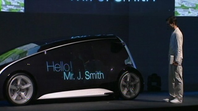 "VIDEO: Automaker?s president describes the Fun-Vii as ""a smartphone on four wheels."""