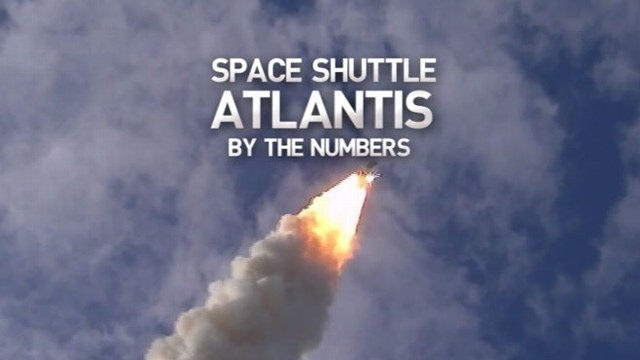 VIDEO: A by the numbers look at the final shuttle launch.