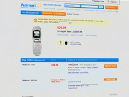 VIDEO: Wal-mart Goes Wireless