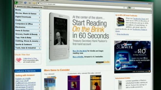 VIDEO: Amazon and MacMillian publishers agreed on a higher price for ebooks.